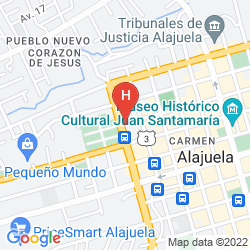 Map EL TUCANO RESORT & THERMAL SPA