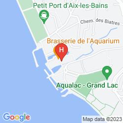 Map HOTEL BEST WESTERN AQUAKUB