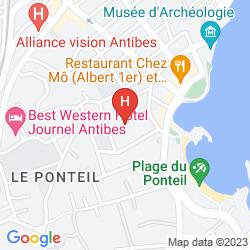 Map LE PONTEIL
