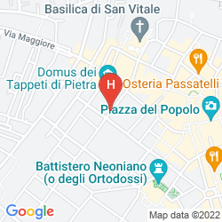 Map HOTEL SANT'ANDREA