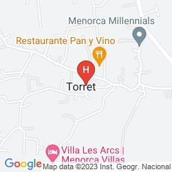 Map VILLAS TORRET DE BAIX