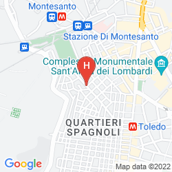 Map SPACCANAPOLI COMFORT SUITES