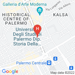 Map HOTEL ITALIA