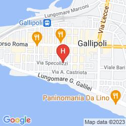 Map LA STANZA PREZIOSA EXCLUSIVE BED&BREAKFAST