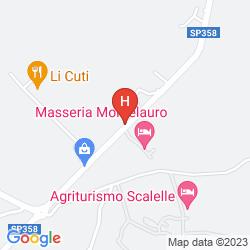 Map MASSERIA MONTELAURO
