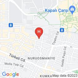 Map MOMENTO BEYAZIT