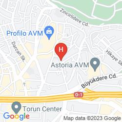 Map NIF HOTEL MECIDIYEKOY
