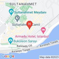 Map VILLA PASHA