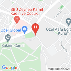 Map VOLLEY HOTEL ISTANBUL