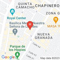 Map HOTELES AMERICA
