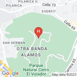 Map CASA ASTURIAS MEDELLIN