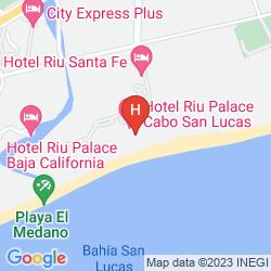 Map DESERT INN ENSENADA