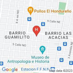 Map HOTEL GRAN MEDITERRANEO