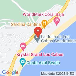 Map KRYSTAL GRAND LOS CABOS