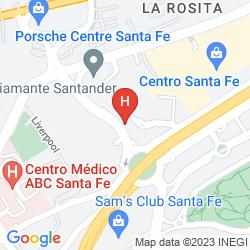 Map STADIA SUITES SANTA FE