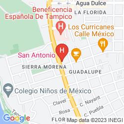 Map SAN ANTONIO TAMPICO