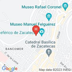 Map DEL BOSQUE TELEFERICO Y MINA