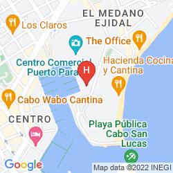 Map MARINA FIESTA RESORT & SPA