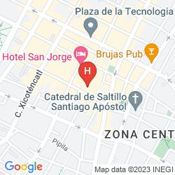Map HOTEL URDINOLA