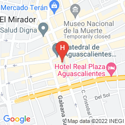 Map QUALITY INN AGUASCALIENTES