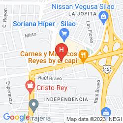 Map HOLIDAY INN EXPRESS SILAO