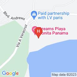 Map DREAMS DELIGHT PLAYA BONITA