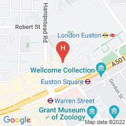 Map ACCESS APARTMENTS EUSTON