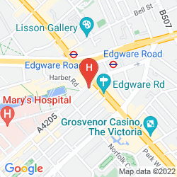 Map ACCESS APARTMENTS PADDINGTON