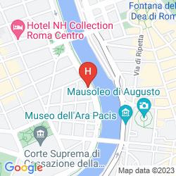 Map ARA PACIS AUGUSTAE