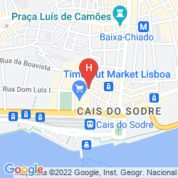 Map RIBEIRA TEJO BOUTIQUE GUESTHOUSE