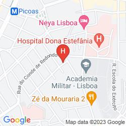 Map RESIDENCIAL MAR DOS ACORES