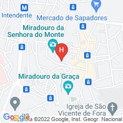 Map ALBERGARIA SENHORA DO MONTE