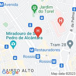 Map PENSAO RESIDENCIAL PORTUENSE