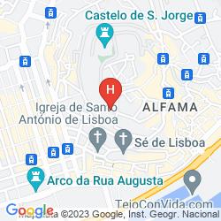Map SOLAR DOS MOUROS