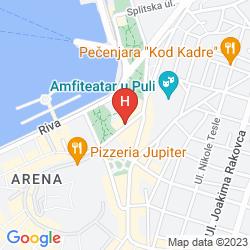 Map ALBERGO AMFITEATAR