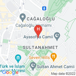 Map VOGUE HOTEL SUPREME ISTANBUL