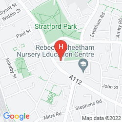Map CITY VIEW HOTEL STRATFORD