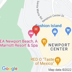 Map MARRIOTT NEWPORT BEACH HOTEL & SPA