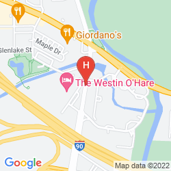 Map MARRIOTT SUITES O'HARE