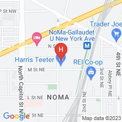Map HILTON GARDEN INN WASHINGTON DC/U.S.CAPITOL