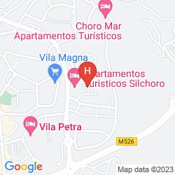 Map APARTAMENTOS TURISTICOS SILCHORO