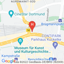 Map A&O DORTMUND HAUPTBAHNHOF