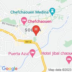 Map HOTEL MADRID