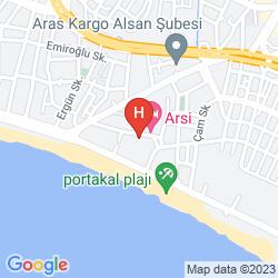 Map MERHABA HOTEL