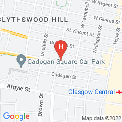 Map INDIGO GLASGOW