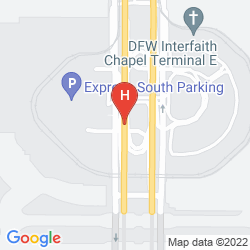 Map HYATT REGENCY DFW INTERNATIONAL AIRPORT