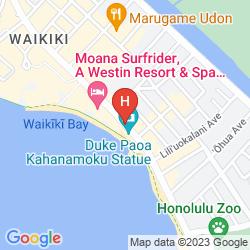 Map HYATT REGENCY WAIKIKI BEACH RESORT AND SPA