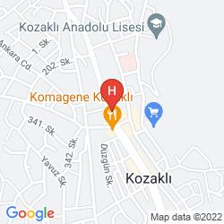 Map KOZAKLI GRAND TERMAL HOTEL