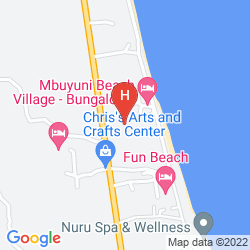 Map CORAL ROCK BEACH BUNGALOWS & HOTEL
