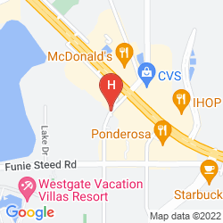 Map QUALITY INN & SUITES BY THE PARKS